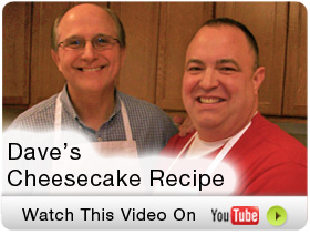 Cheesecake Recipe Video